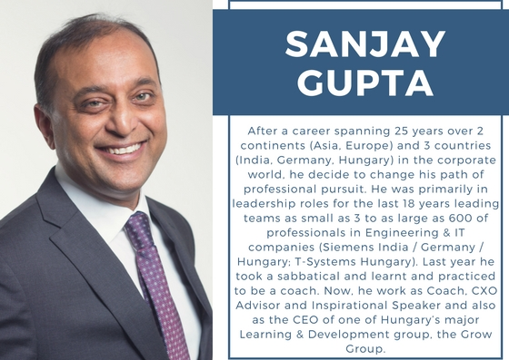 After a career spanning 25 years over 2 continents Asia Europe and 3 countries India Germany Hungary in the corporate world he decide to change his path of professional pursuit. He was primarily in lead 3
